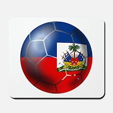 Haiti Soccer Ball Mousepad