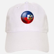 Haiti Soccer Ball Baseball Baseball Cap