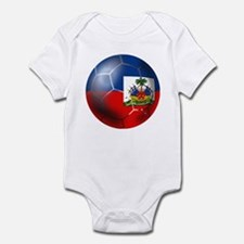 Haiti Soccer Ball Infant Bodysuit