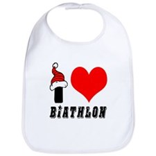 I Love Biathlon Bib