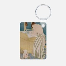 Woman bathing, 1890-91 - Keychains