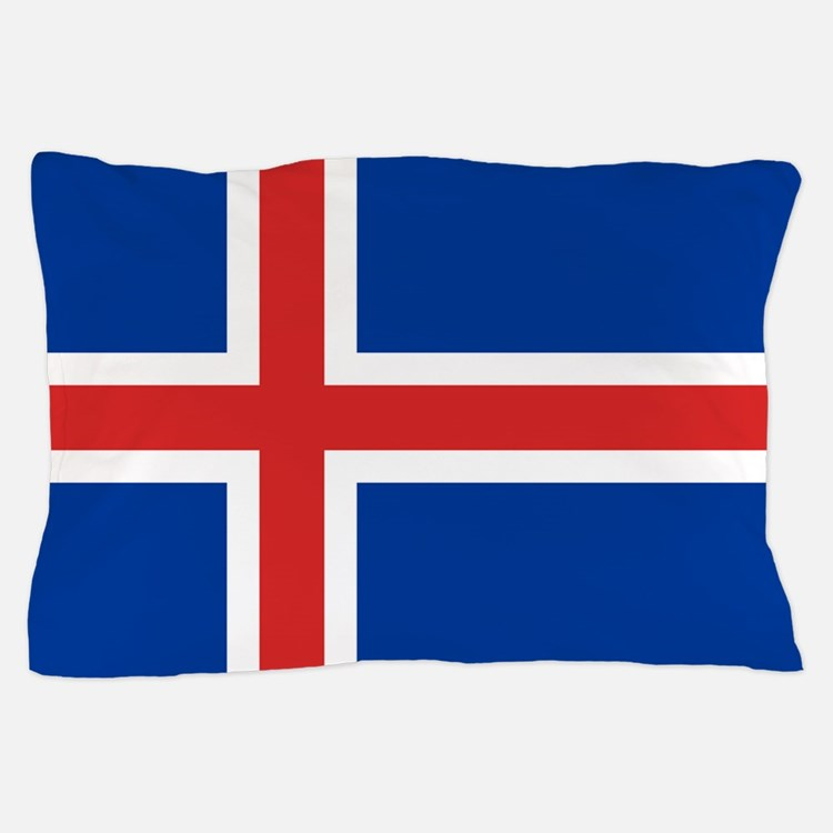 Flag of Iceland Pillow Case