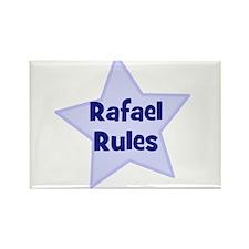 Rafael Rules Rectangle Magnet