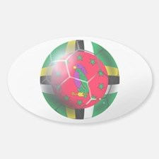 Dominica Soccer Ball Decal