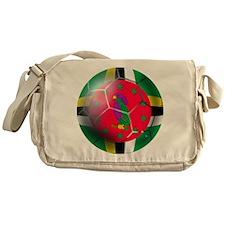 Dominica Soccer Ball Messenger Bag