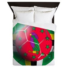 Dominica Soccer Ball Queen Duvet