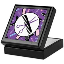 Stylist Hair Salon Keepsake Box