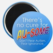 """No Cure for Au-some 2.25"""" Magnet (10 pack)"""
