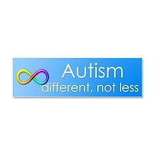 Autism. different, not less Car Magnet 10 x 3