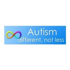 Autism. different, not less Wall Decal