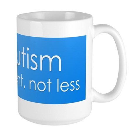 Autism. different, not less Mug