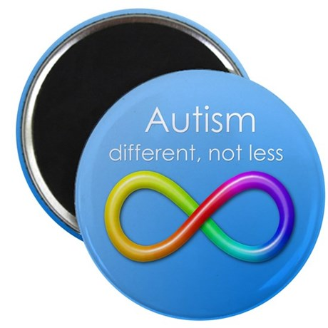Autism. different, not less Magnet
