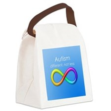 Autism. different, not less Canvas Lunch Bag