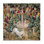 Unicorn Tapestry Tile Coaster