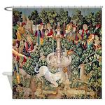 Unicorn Tapestry Shower Curtain