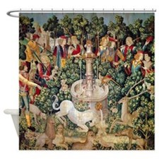 Unicorn Tapestry Shower Curtain