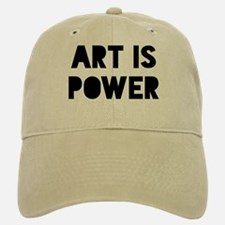 Art Power Baseball Baseball Cap