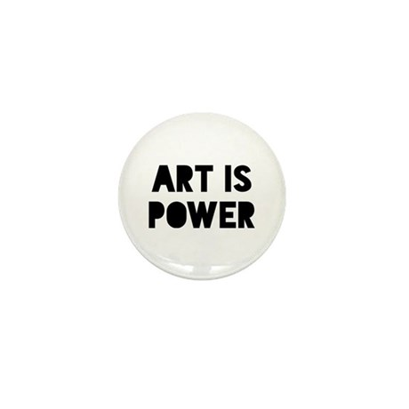 Art Power Mini Button