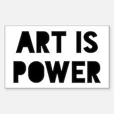 Art is Power Stickers