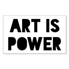 Art Power Stickers