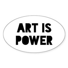 Art Power Decal