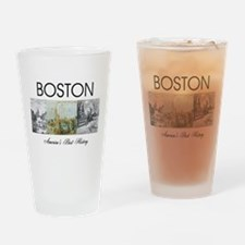 ABH Boston Drinking Glass