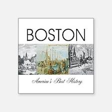 """ABH Boston Square Sticker 3"""" x 3"""""""