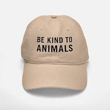 Be Kind Animals Baseball Baseball Cap