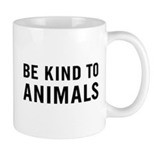 Be Kind Animals Mug