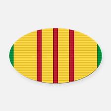 Vietnam Oval Car Magnet