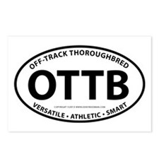 OTTB Postcards (Package of 8)