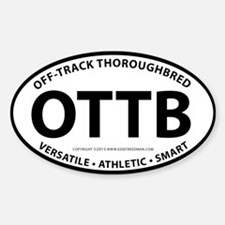 OTTB Decal