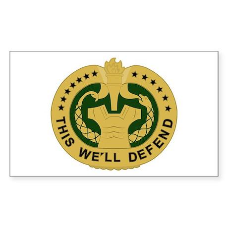 Drill Sergeant Sticker (Rectangle)