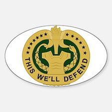 Drill Sergeant Sticker (Oval)