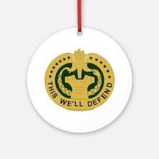 Drill Sergeant Ornament (Round)