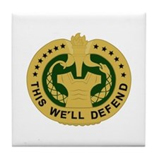 Drill Sergeant Tile Coaster