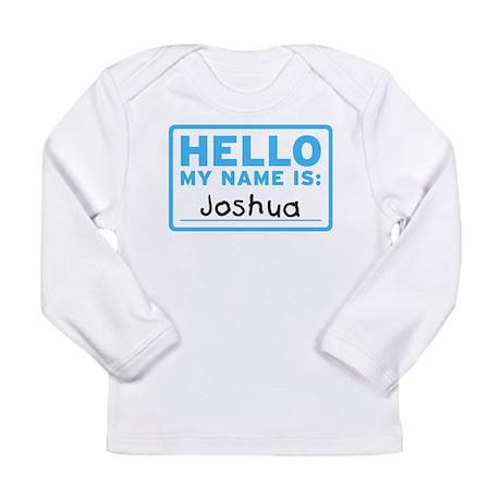Hello_Joshua Long Sleeve T-Shirt