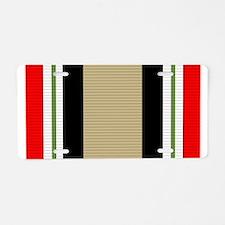 Iraq campaign Aluminum License Plate