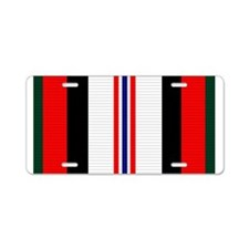 Afghanistan campaign ribbon Aluminum License Plate