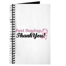 Just Saying, Thank You! Journal
