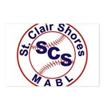SCS MABL Baseball League Postcards (Package of 8)