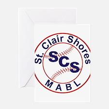 SCS MABL Baseball League Greeting Card