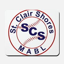 SCS MABL Baseball League Mousepad