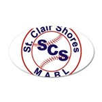 SCS MABL Baseball League Wall Decal