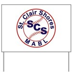 SCS MABL Baseball League Yard Sign