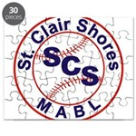 SCS MABL Baseball League Puzzle