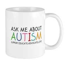 Ask Me About Autism Mug