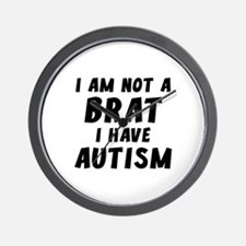 I Have Autism Wall Clock