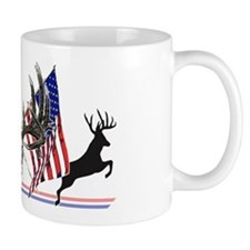 Patriotic Whitetail buck Mug