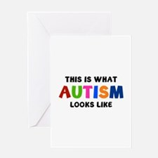 This is what Autism looks like Greeting Card